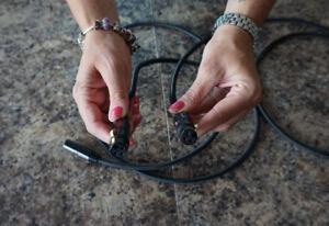 Cable audio XLR de qualité....