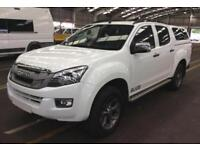2014 WHITE ISUZU D MAX 2.5 TD BLADE 4X4 CREW CAB PICK UP CAR FINANCE FR 50 PW