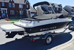 Bayliner 175 BR Luxe 2013 (35 heures)