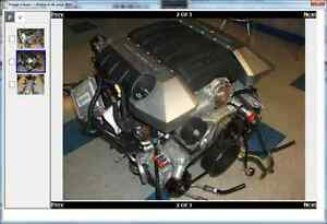 Motor Chevrolet Camaro LS SS LS3 Drop Out Manual Tremec Trans