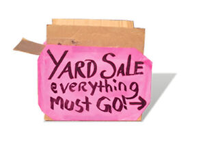 2 Day Garage Sale!!  AD WAS POSTED EARLIER UNDER WRONG ACCT.