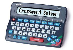 Seiko Oxford Crossword Solver Desk Edition Dictionary Spellcheck Thesaurus Games