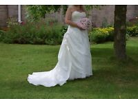 Wedding dress - house of Nicholas designer size 16/18