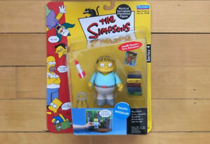 """THE SIMPSONS """"Playmates Interactive Figures SERIES 4"""" (MIP)"""