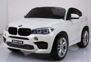 Licensed 12V 2 Seater BMW X6M Child Ride-On Doors Remote  Music