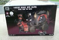 Wanted 12 ft  inflatable carriage hearse with reaper