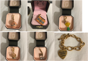 REDUCED - Juicy Couture Bracelet & Charms