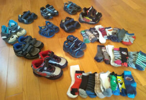 Boys Toddler Shoes/Sandals/Slippers (Sizes 5-10) *great shape!*