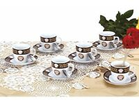 Versace Porcelain Coffe Set 18pcs Square