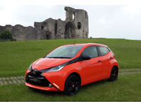 2015 '15' TOYOTA AYGO VVT-i X-CITE FINISHED IN ORANGE TWIST. JUST 29,250 MILES!