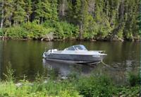23ft Stanley Welded Aluminum Boat