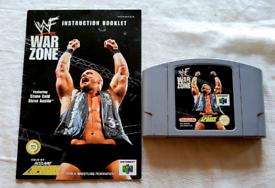 WWF WARZONE - NINTENDO 64.