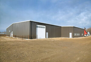 PRE ENGINEERED STEEL BUILDING FOR POWELL RIVER DISTRICT!!