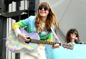 Jenny Lewis - FRONT ROW CENTRE FLOORS- Massey Hall- Sept. 10