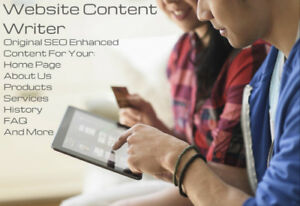 Website Content Writer. SEO Enhanced Content, Great Flat Rates