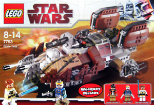 LEGO Star Wars 7753 Pirate Tank, NEW, factory sealed