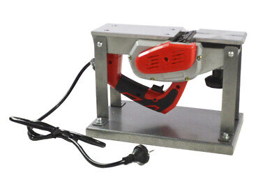 Techtongda 220v Small Flat Planning Machine Portable Electric Woodworking Planer