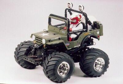 Tamiya Wild Willy 2000 (WR-02) 2WD 1:10 Wheely Car Bausatz - 300058242