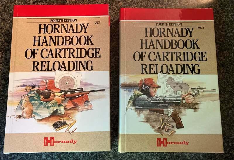 Hornady Handbook of Cartridge Reloading (4th Edition) Volumes 1 & 2