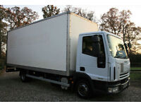 2008 (58) IVECO EUROCARGO 75E16 7.5 EURO 5 BOX LORRY TAILLIFT LOW MILEAGE