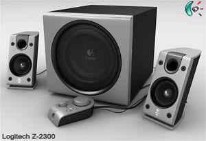 Logitech Z-2300 THX Certified 2.1 Speakers - Like New