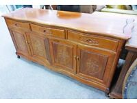 Oriental Sideboard - Hardwood in Perfect condition