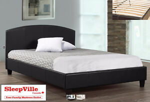 BLACK PREMIUM QUEEN BED - FREE SAME DAY DELIVERY