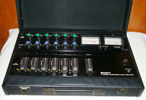 Sony MX-670 Microphone mixer in like new condition