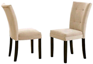 Steve Silver Company MT200BE Matinee Parsons Chairs (Set of 2)