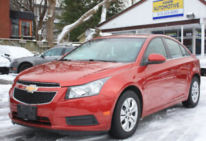 2011 Chevrolet Cruze LT Turbo**AUTO**SUNROOF** RED must be seen