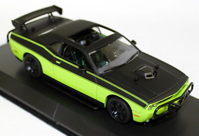 Greenlight 1/43 Fast Furious Lettys Dodge Challenger R/T Lime Diecast model car