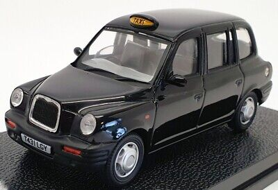 Vitesse 1/43 Scale Model Car 10206 - 1998 TX1 London Taxi Cab - Black
