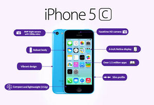 Iphone 5c 8GB avecTelus/Koodo +Garantie