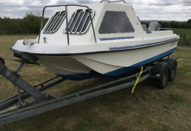Wanted 10ft to 14ft boat with engine