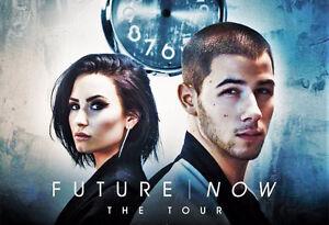 Demi Lovato & Nick Jonas CLUB section 213 sièges F12+F11