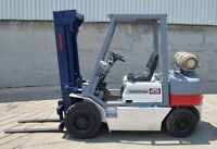 13 FORKLIFTS Hyster Nissan Toyota COMPANY CLOSING Auction