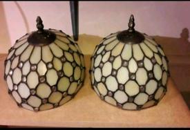 Tiffany style glad lamp shades