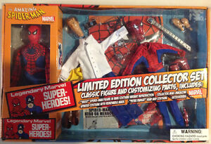 Limited edition re-issue mego spider man never opened
