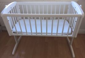 Mothercare Swinging Crib (over £70 new)