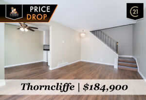 INCREDIBLE VALUE! FULLY DEVELOPED NW CALGARY TOWNHOUSE-$184,900