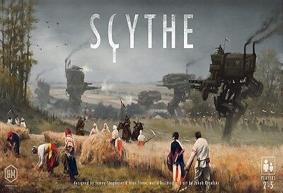 SCYTHE BOARD GAME NEW FACTORY SEALED