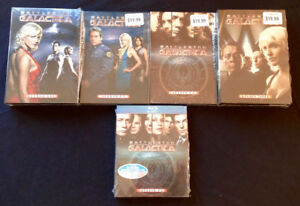 """Battlestar Galactica"" DVD's and Blu-Ray"