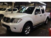 2015 WHITE NISSAN NAVARA 2.5 DCI 4WD TEKNA CREW CAB PICKUP CAR FINANCE FR 50 PW