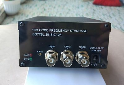 10mhz Ocxo Frequency Standard Reference 2-ch Sine Wave 1-ch Square Wave