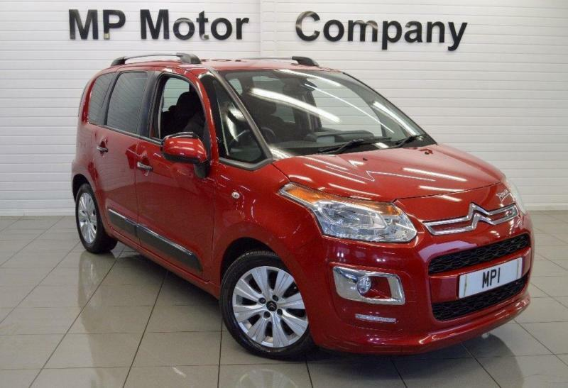 2013/63-CITROEN C3 PICASSO 1.6HDI ( 115BHP) EXCLUSIVE 5DR ECO DIESEL MPV,1 OWNER