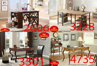 Huge Saving, desk, tv desk, benches, office computer chairs