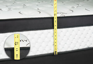 BRAND NEW Double / Queen Euro Top Pocket Coil Mattress FREE SHIP Kitchener / Waterloo Kitchener Area image 5