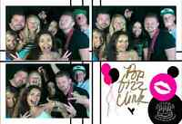 Photobooth with Unlimited Prints $100/hr