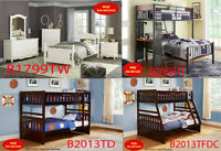 for sales, bedroom sets, queen beds, dresser, chest, site tables