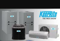 Professionally Installed Heating & Air Conditioning
